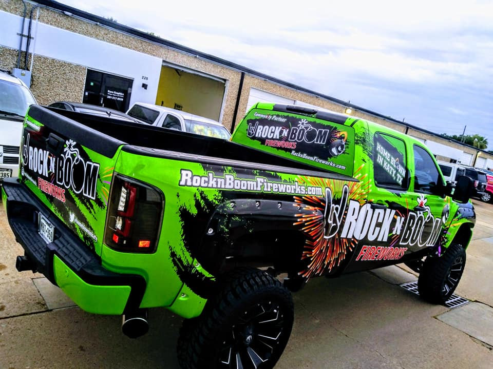 sick truck wrap