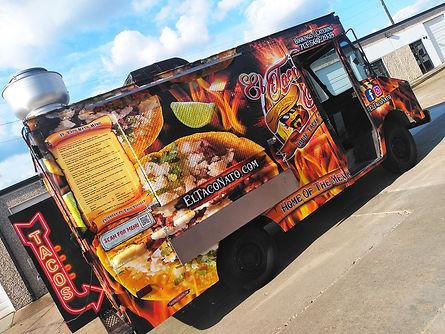 taco truck wrap houston