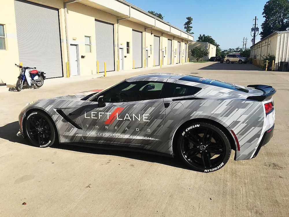 Corvette Camo wrap