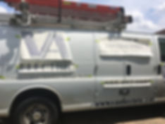 vehicle vinyl on van