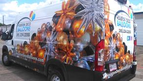 Promaster Cargo Van Wrap and Graphics