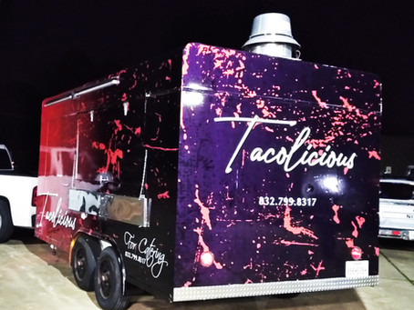 Tacolicious - Food Trailer Wrap