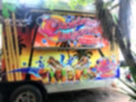 flamingo lagoon food trailer