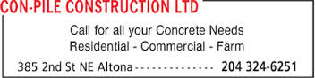 Business of the Week: Con-Pile Construction