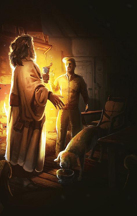 Illustration 12 - Peter Thomas and Nana