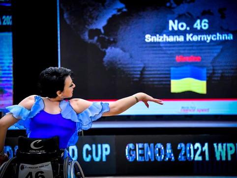 Grande entusiamo per la Coppa del Mondo di Danza Paralimpica