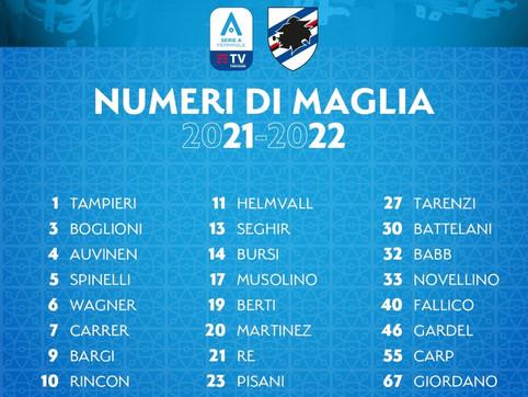 Sampdoria Women, i numeri di maglia: Stefania Tarenzi sceglie il 27