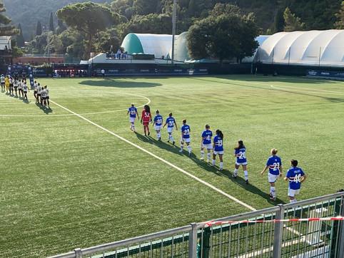 Sampdoria Women-Milan 0-1: super Babb, Tarenzi sfortunata