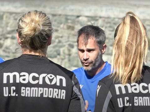 Sampdoria Women-Milan, le convocate di Mister Antonio Cincotta