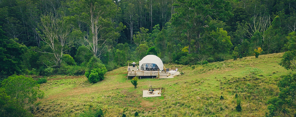 Nature Domes, Toms Creek, Luxury Glamping, Sustainable, Feature by Brilliant-Online