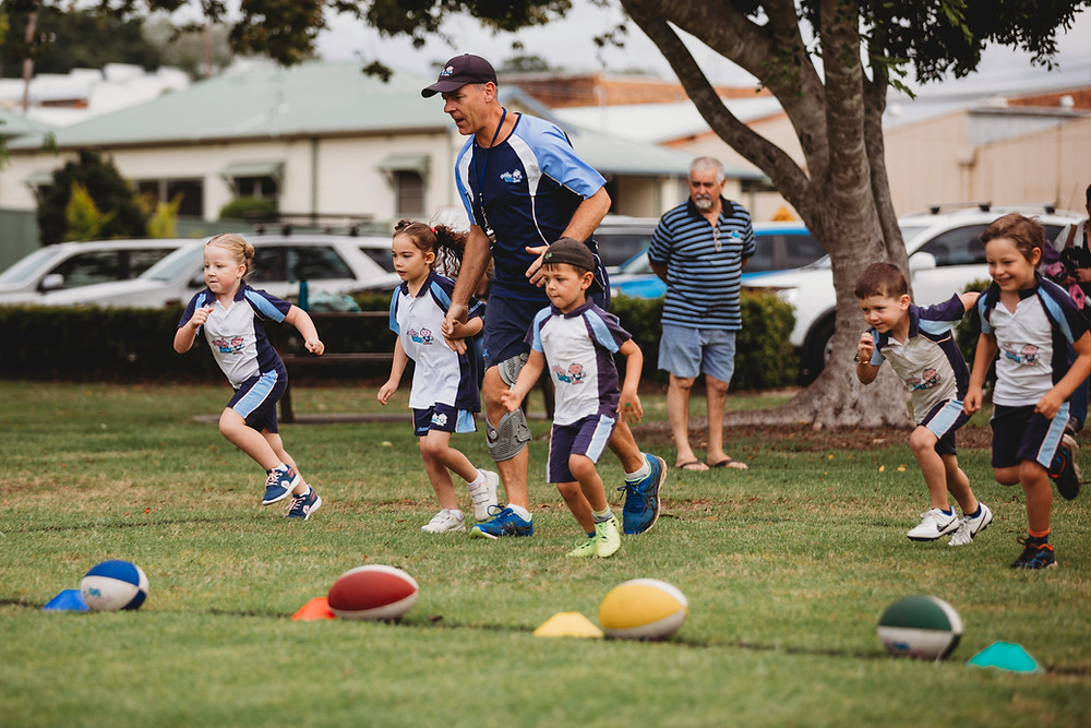 Toddlers playing Rugby, Rugbytots, feature story by Brilliant-Online