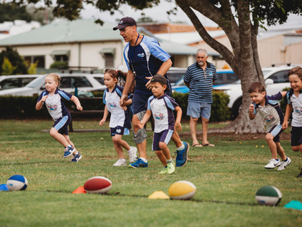 Rugbytots - A Whole New Ballgame