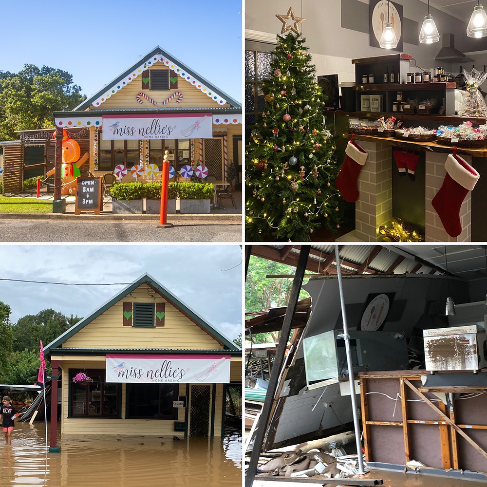 Miss Nellie's Cafe, March 2021 Floods, Flood Stories, feature story by Brilliant-Online