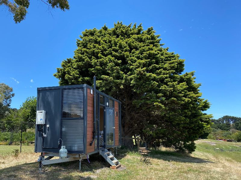 Tiny House Big View in Boneo, Tiny away, feature story by Brilliant-Online