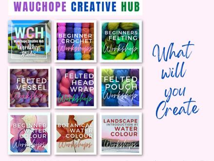 Wauchope Creative Hub Workshop Updates
