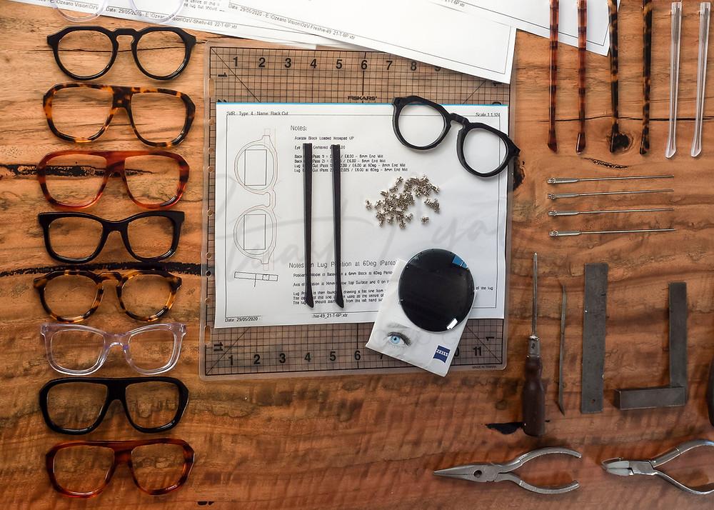 Optex Australian made eyewear featured on Brilliant-Online