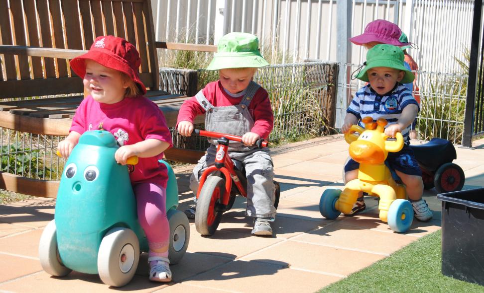 TG's Childcare and Kindergarten at Urangan Queensland with happy children Playing