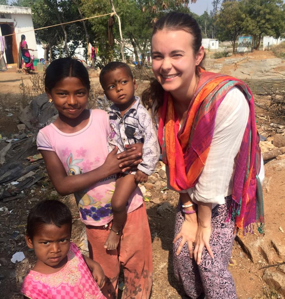 Jacquie on her first trip to India, Secret Sisterhood, feature story by Brilliant-Online