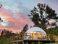 Luxury Glamping at Toms Creek Nature Domes