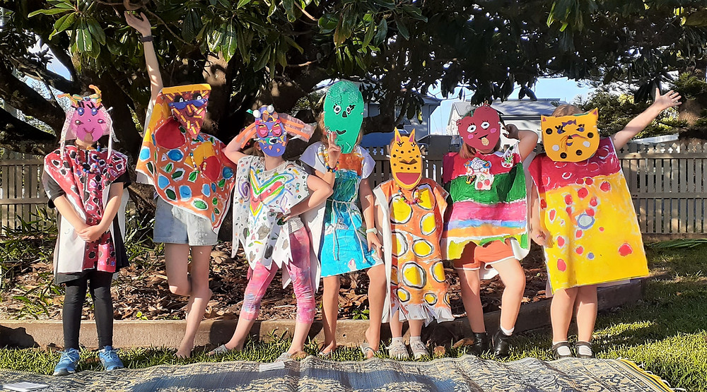 Students explore The wonderful World of Monsters!, Yamba Art Space Gallery, feature story by Brilliant-Online