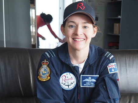 Roulette Pilot Aimee Heal Flies in Her Seventh Heaven