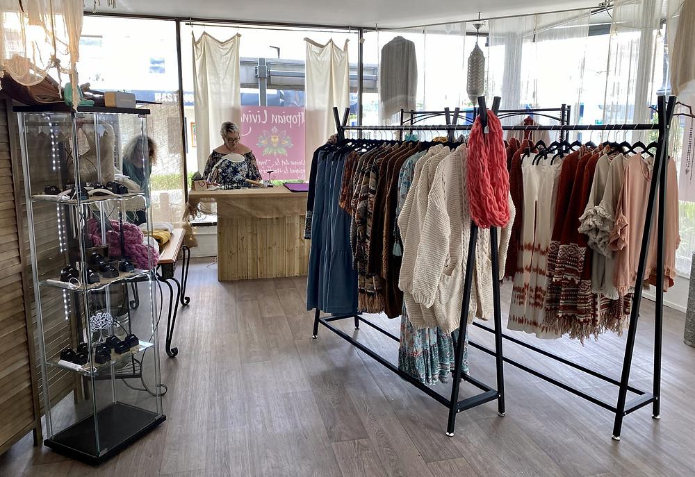 Utopian Living, unique retail shop in Wauchope, Michele Cook featured on Brilliant-Online Magazine
