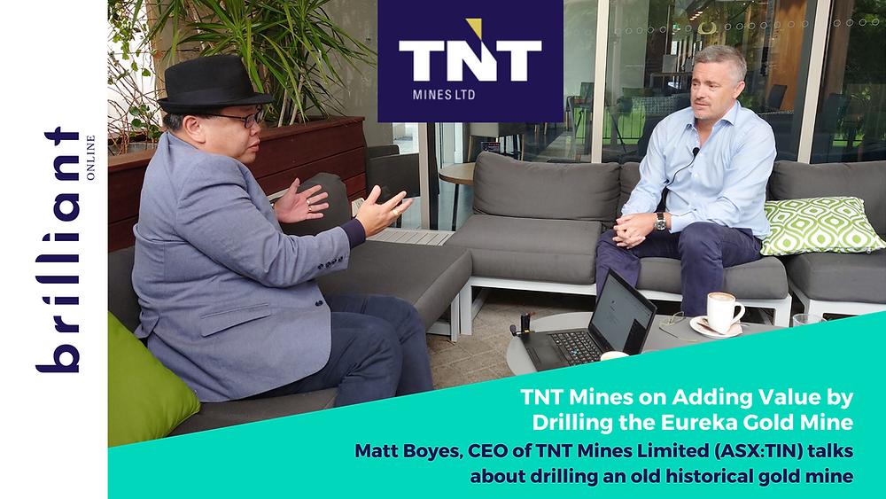Matt Boyes, TNT Mines, Noel Ong, Coffee with samso, Brilliant-Online