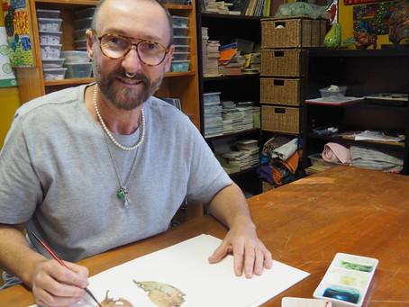 Stu Doherty brings art back home to Wauchope