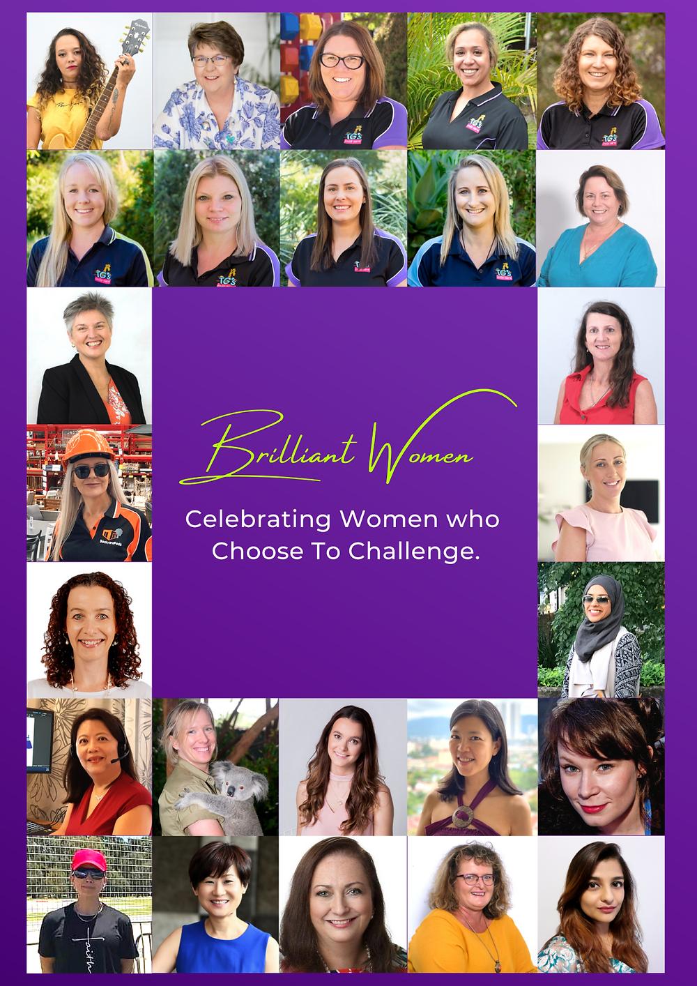Celebrating Women, March 2021, Brilliant-Online