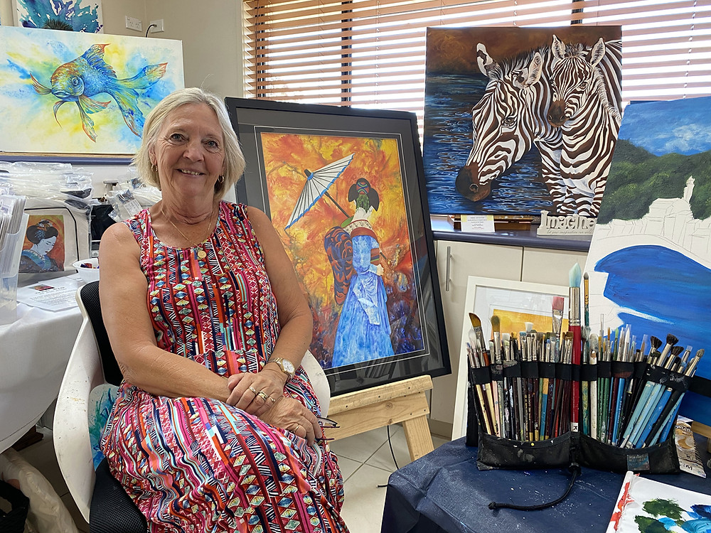 Kim Staples, Art of Life, feature story by Brilliant-Online