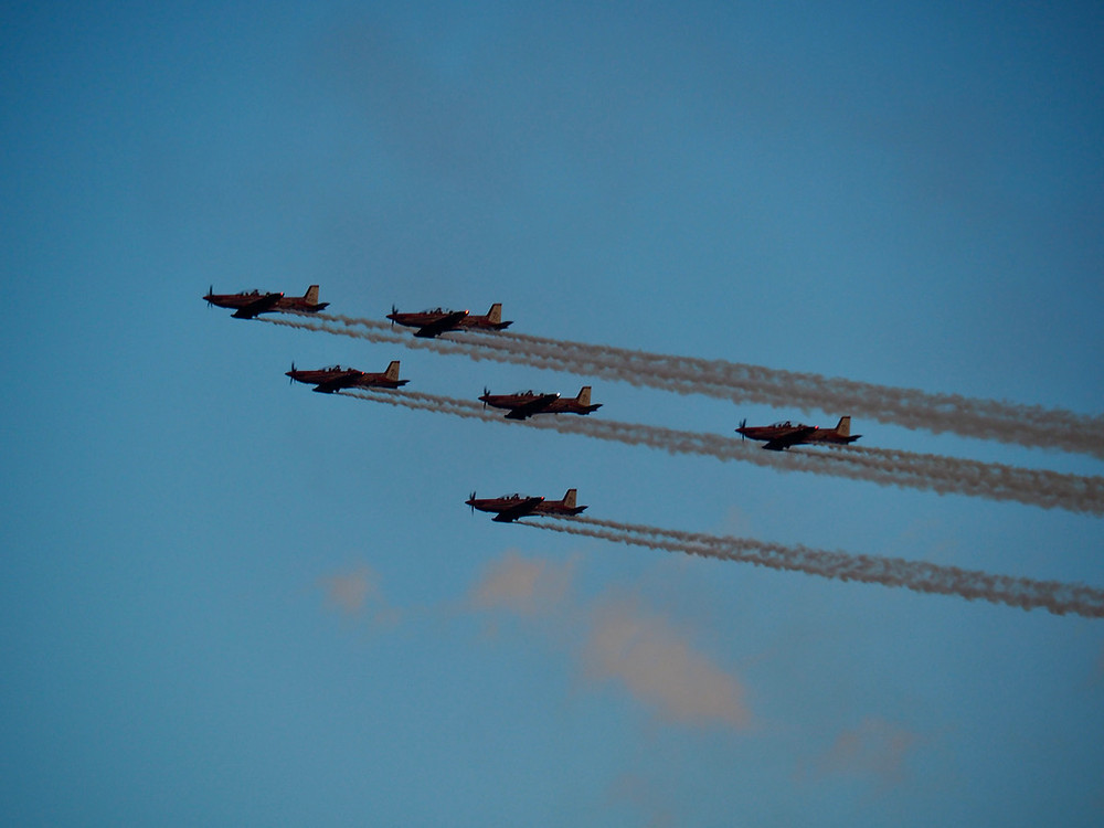 FAAF, Air Force Roulettes, HDFC Open Day, feature story by Brilliant-Online