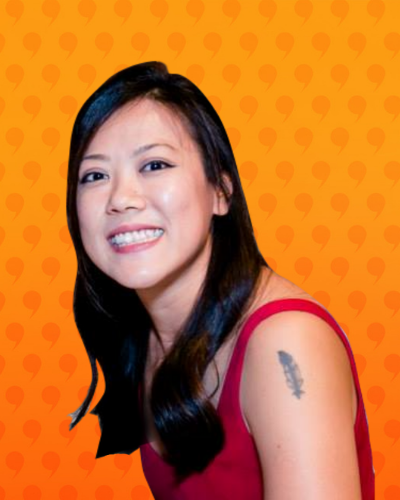 Charlene Tan - the Marketing Magician, Vermilion Pinstripes, feature story by Brilliant-Online