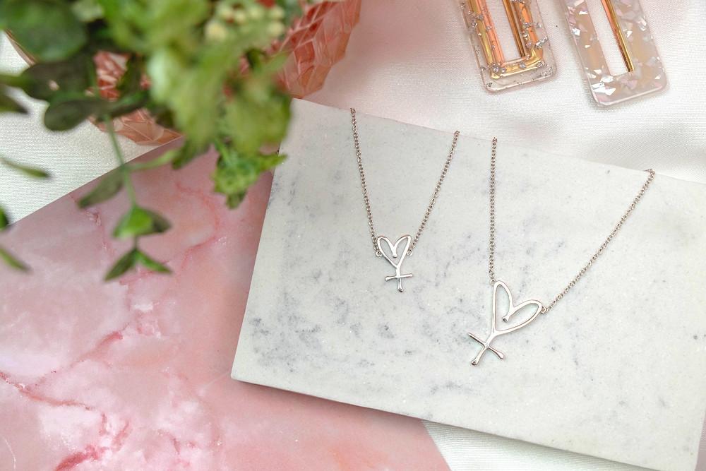 Secret Sisterhood Symbol Necklaces, Jacquie Love, Secret Sisterhood, feature story by Brilliant-Online
