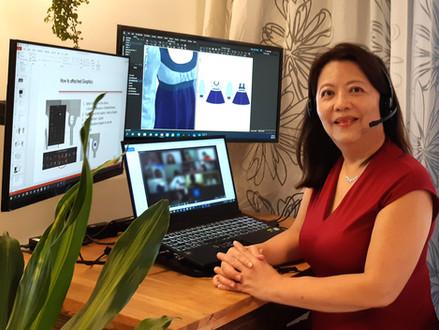 Tanya Tan, Moving Fashion Forward, Digitally