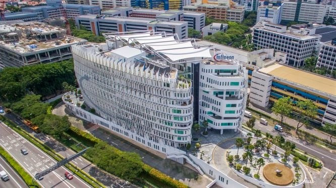 Infineon's APAC headquarters in Singapore, feature story, Brilliant-Online