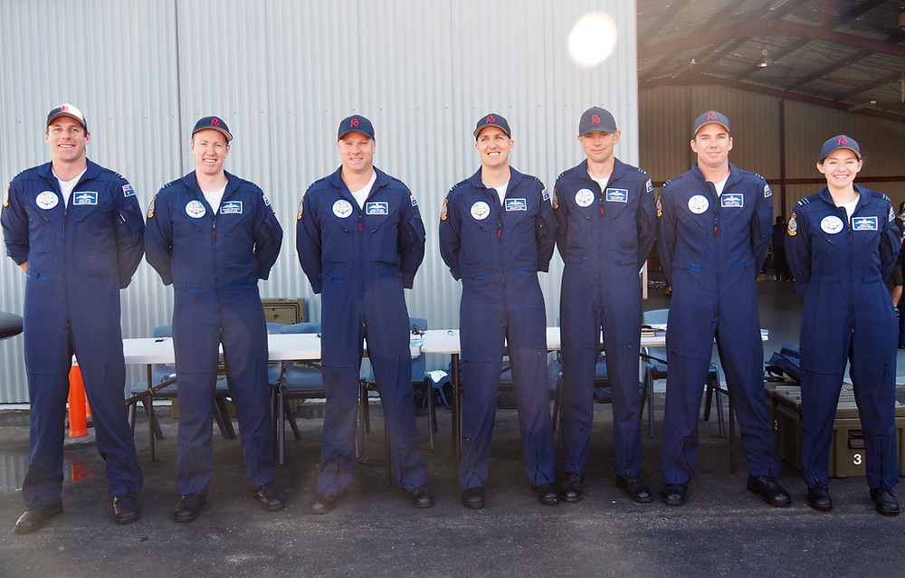 RAAF, Royal Australian Air Force Roulettes, HDFC Open Day, feature story by Brilliant-Online