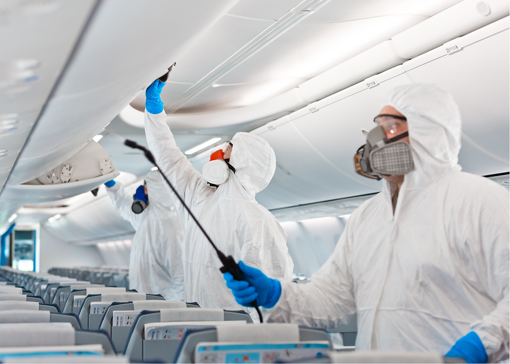 The Future of Air Travel, disinfecting flights, feature story by Brilliant-Online