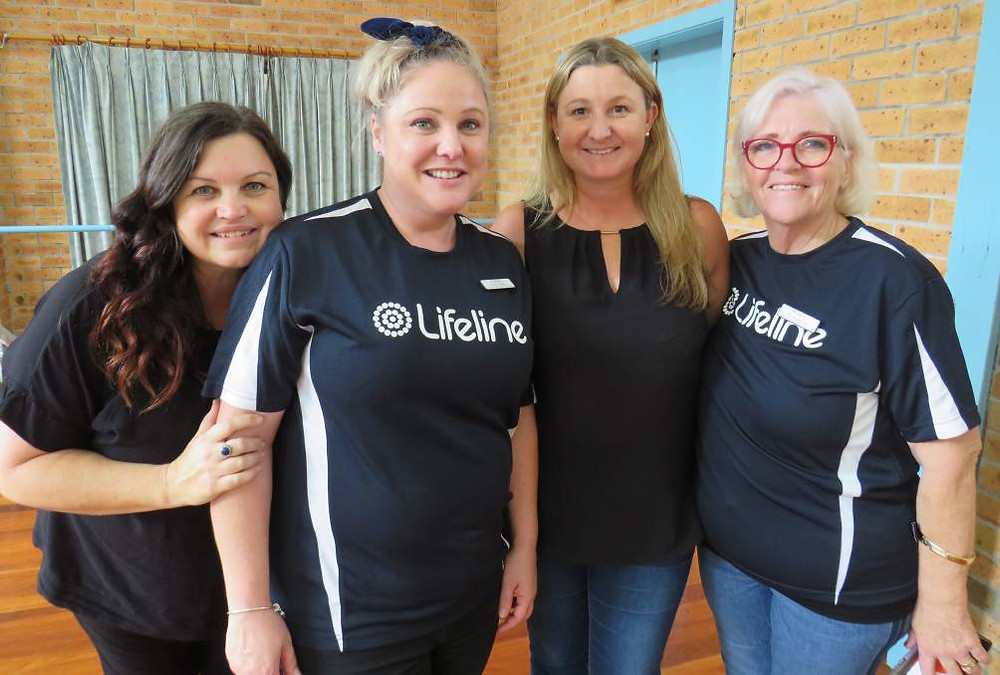 Conversations with Kelly and Lisa from Lifeline Mid coast. feature story by Brilliant-Online