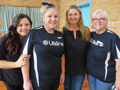 Conversations with Kelly and Lisa from Lifeline Mid Coast