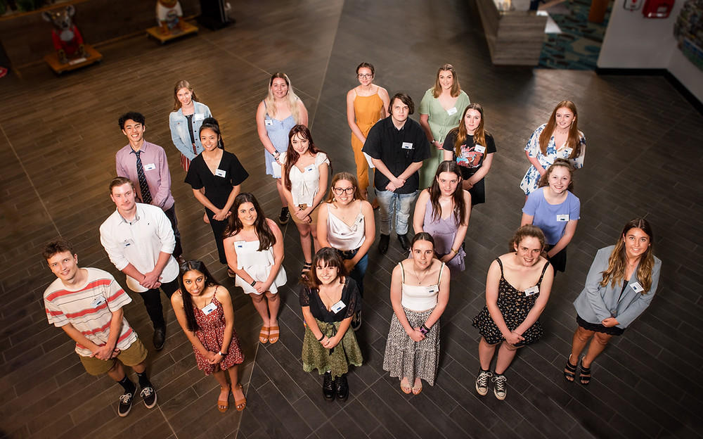 This year's HEF Student grant recipients