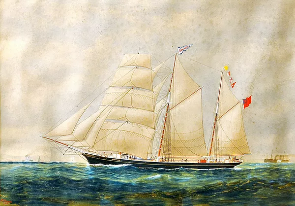 water colour painting by W. Foster, The Camden Haven Historical Museum,  Feature story by Brilliant-Online