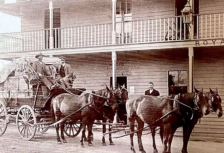 JACKMAN'S BOARDING HOUSE, RAILWAY ST, KE, The Camden Haven Historical Museum, Feature story by Brilliant-Online