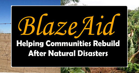 BlazeAid is Working Tirelessly to Help Others in Need