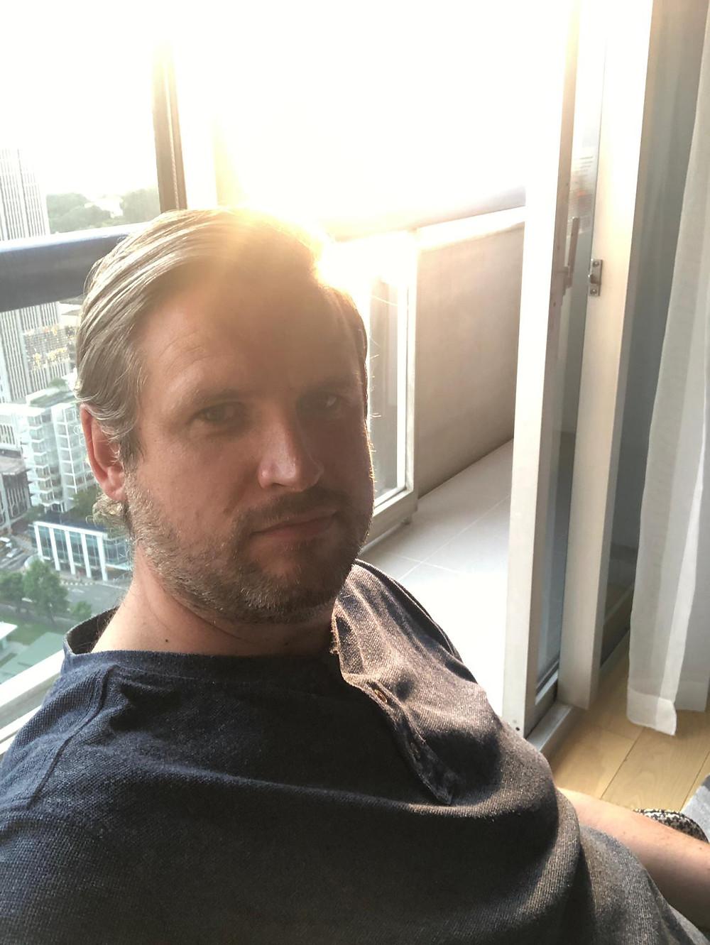 Adam Hyslop, Singapore Quarantine, feature story by Brilliant-Online