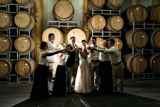 Lexi & Steve Wedding -Barrel Room