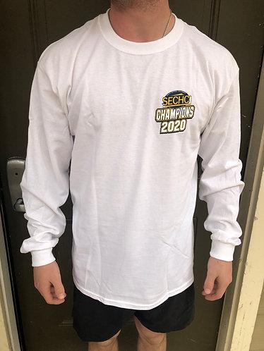 2020 SECHC Champions Long Sleeve White T-Shirt