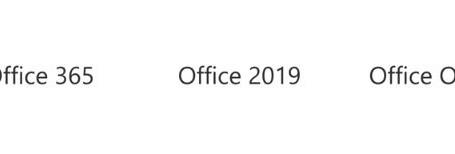 Office 365 ou Office 2019, la différence?