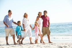 Family on Minnesota Beach