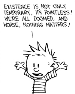 Yup, it's likely that nothing matters. And that's just fine.