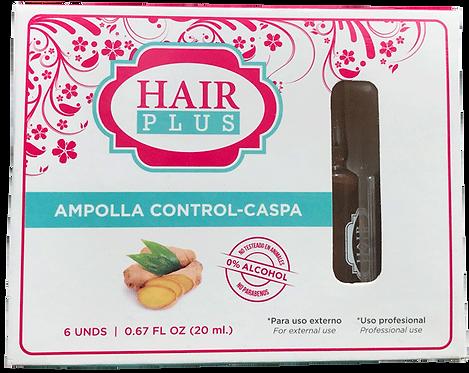 AMPOLLA CONTROL CASPA (6 UNDS)